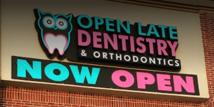 Open Late Dentistry and Orthodontics Now Open Banner Celina TX Dr. Rouse
