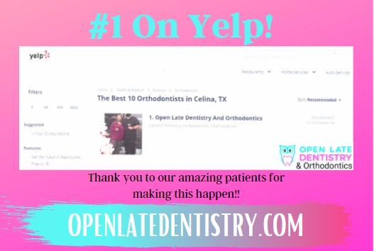 1 Yelp Orthodontist Celina Tx Dr Rouse Open Late Dentistry And Orthodontics