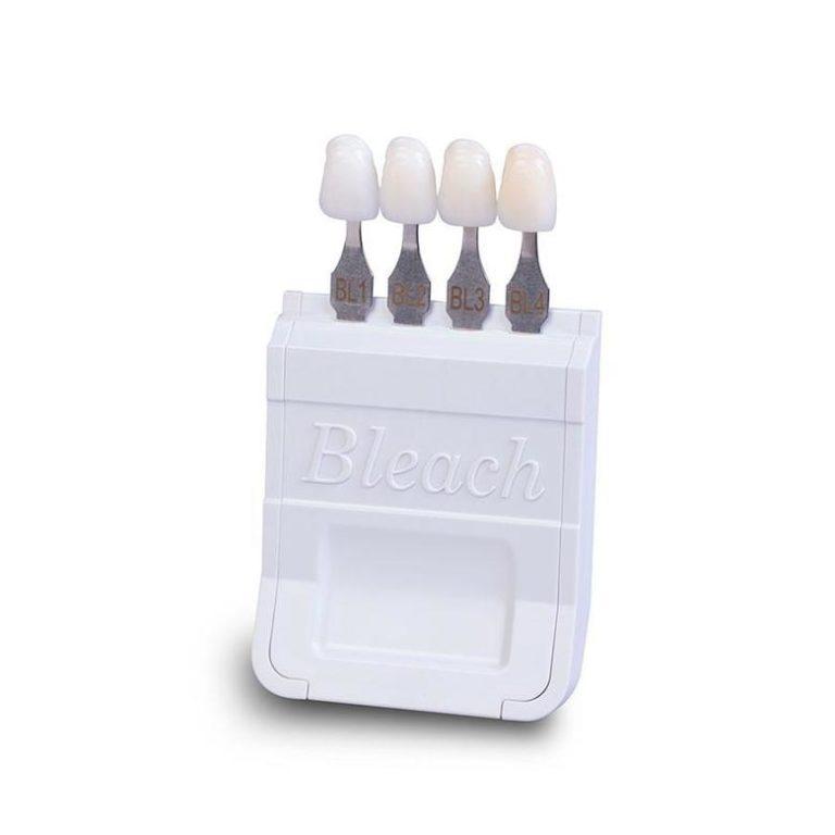 Bleached Shade Guide Dr Rouse Open Late Dentistry Dental Porcelain Veneers Prosper Celina Frisco Mckinney